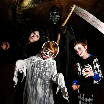 Halloween Online Celebrations at the Marble Arch Caves
