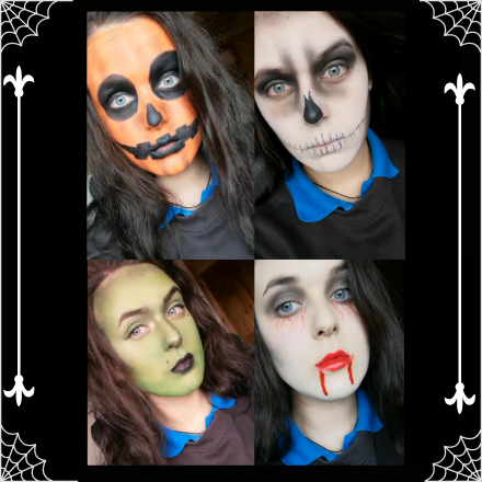 Monster Makeup at the Marble Arch Caves