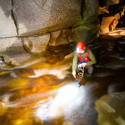 Dynamic Dye-Tracing at the Marble Arch Caves