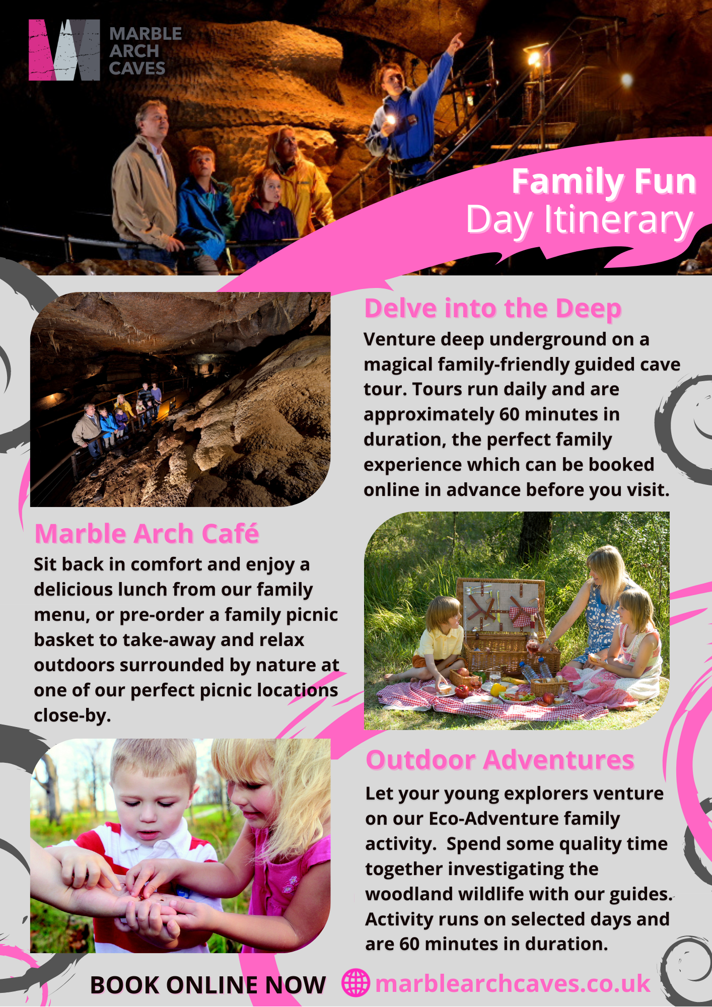 Fun Family Days Out at the Marble Arch Caves
